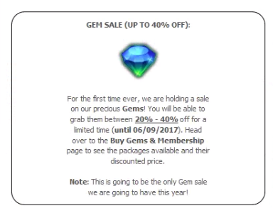 Gems - Wiki: Gates of Survival - An online text-based MMORPG!